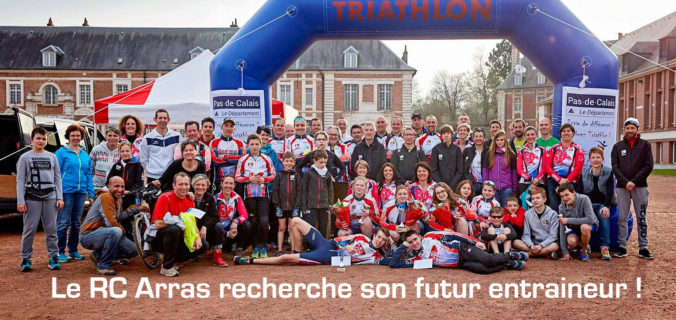 offre d u2019emploi rc arras triathlon  u2013 ligue hauts