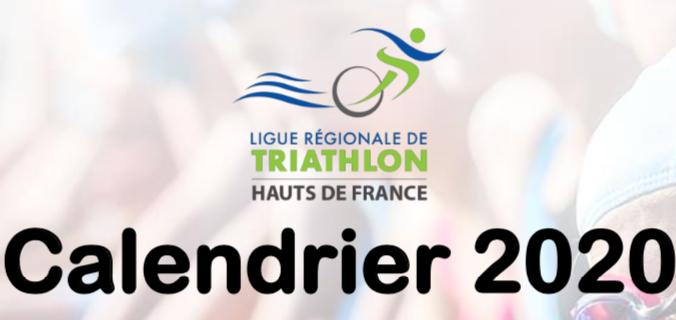 Préparation du calendrier 2020 – Ligue Hauts de France de Triathlon